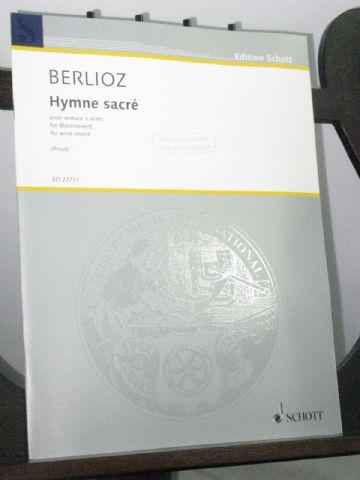Berlioz H - Hymne Sacre for Wind Sextet arr Prost N
